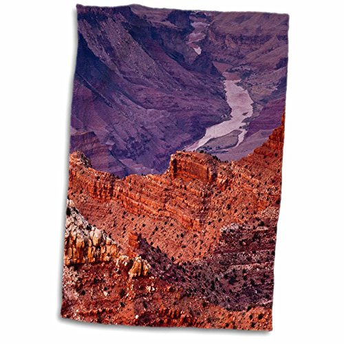 3D Rose Colorado River-Lipan Point-South Rim-Grand Canyon Np-Arizona Handtuch, 38,1 x 55,9 cm von 3dRose