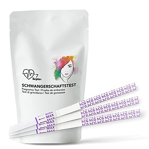 Coretests Früh Schwangerschaftstest 10 mIU//ml EXTRA BREIT 4 mm extra zuverlässig