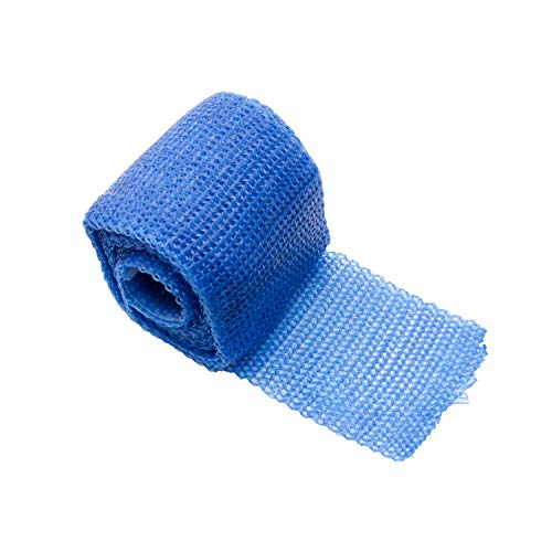 Orthopaedic Casting Tape | FIBERGLAS | Gips Verband | Cast Material | Stützverband | Farbe: blau von AFH-Webshop