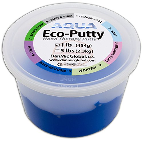 Therapieknete AQUA Eco Putty | PROFI-Line | 454 g (medium-firm | ocean-blue) von AFH-Webshop