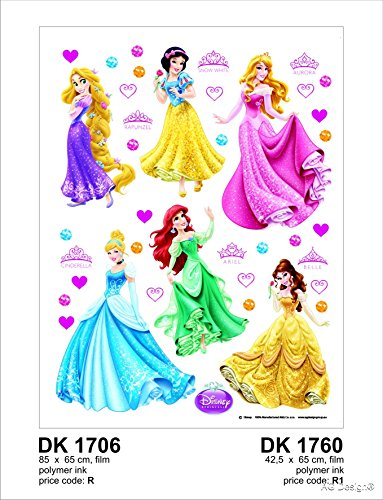 Wand Sticker DK 1706 Disney Princess von AG Design