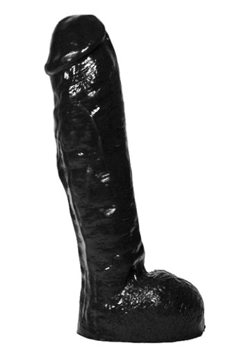 29 x 6 cm X-MAN All Black 34 Dildo von ALL BLACK