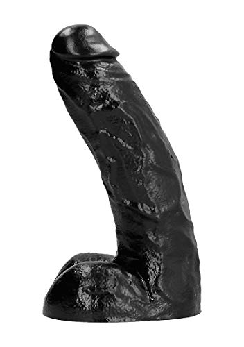 All Black Monster-Dong Dildo schwarz von ALL BLACK