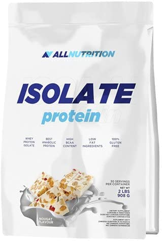 ALLNUTRITION Isolate Protein Eiweiß Shake Molkeprotein Pures Isolat Bodybuilding 908 g (Caffe Late Chocolate - Kaffe Latte Schoko) von ALLNUTRITION