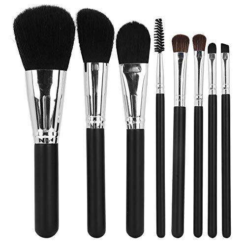 Make-up Pinsel Kosmetik Werkzeuge 8pcs Make-up Pinsel Set Holzgriff Nylon Haar von ANGGREK
