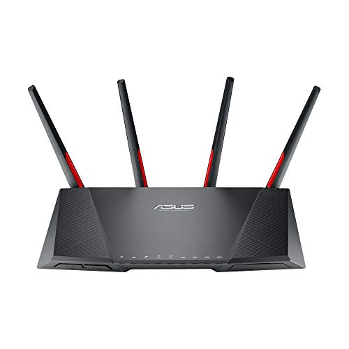 Asus DSL-AC68VG VOIP Modem Router (DE-Version, WiFi 5 AC2300 MU-MIMO, Anrufbeantworter, Gigabit LAN, AiProtection, Dual-Core CPU, Multifunktion USB 3.0) von ASUS Computer