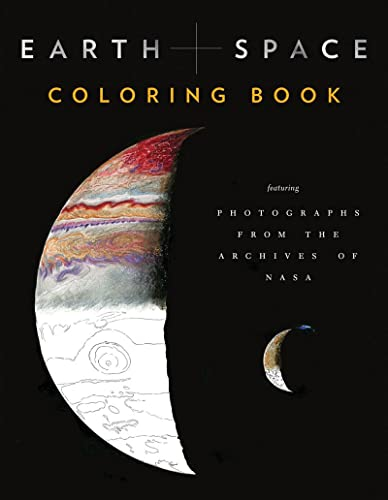 Earth and Space Coloring Book: Featuring Photographs from the Archives of NASA (Colouring Books) von Abrams & Chronicle