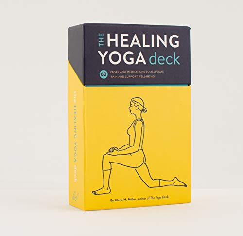 The Healing Yoga Deck: 60 Poses and Meditations to Alleviate Pain and Support Well-Being von Abrams & Chronicle Books