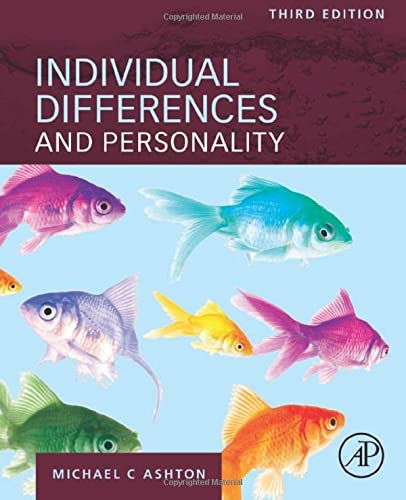Individual Differences and Personality von Academic Press