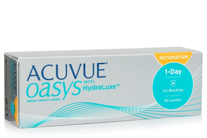 Acuvue Oasys 1-Day with HydraLuxe for Astigmatism, 30er Pack von Acuvue Kontaktlinsen