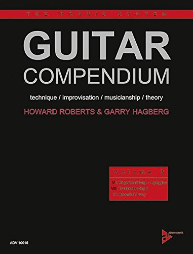 Guitar Compendium: technique / improvisation / musicianship / theory. Vol. 3. Gitarre. Lehrbuch. (The Praxis System, Band 3) von Alfred Music