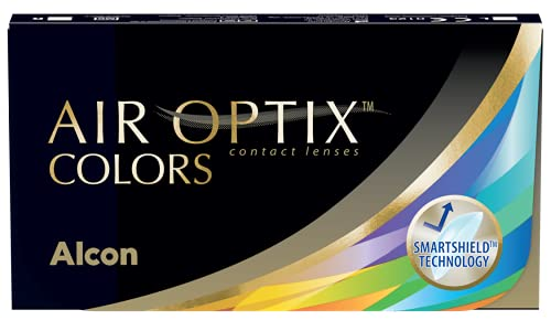 Air Optix Colors Gemstone Green Monatslinsen weich, 2 Stück / BC 8.6 mm / DIA 14.2 / +3.5 Dioptrien von Alcon