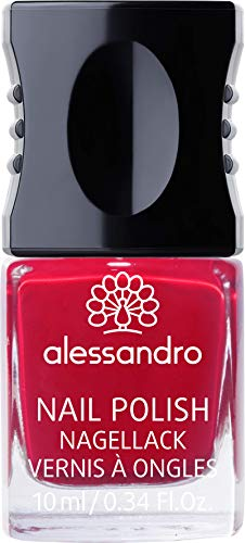 alessandro Nagellack 28 Red Carpet, 1er Pack (1 x 10 ml) von alessandro