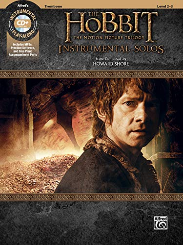 The Hobbit: The Motion Picture Trilogy Instrumental Solos - Trombone (Pop Instrumental Solo): Trombone, Book & CD von Alfred Music