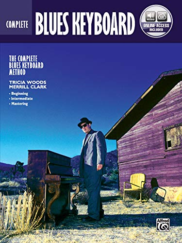 Complete Blues Keyboard Method Complete Edition: Book & Online Audio von Alfred Music