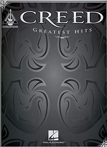 Creed -- Greatest Hits: Authentic Guitar Tab von Alfred Music