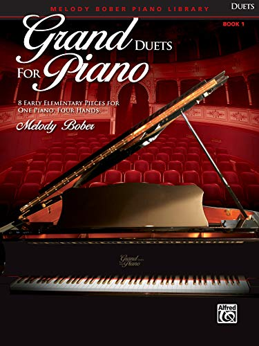 Grand Duets for Piano, Bk 1: 8 Early Elementary Pieces for One Piano, Four Hands von Alfred Music