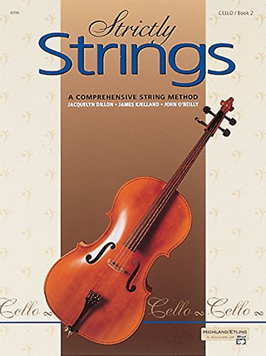 Strictly Strings, Bk 2: Cello von Alfred Music