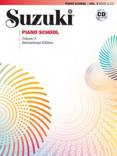 Suzuki Piano School New International Edition Piano Book and CD, Volume 3: Book & CD von Alfred Music