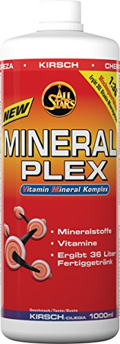 All Stars Mineral Plex, Kirsch, 1er Pack (1 x 1000 ml) von All Stars