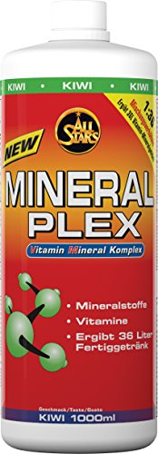 All Stars Mineral Plex, Kiwi, 1er Pack (1 x 1000 ml) von All Stars