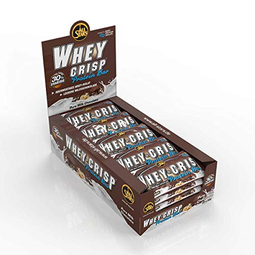 All Stars Whey-Crisp Bar, Chocolate, 25er Pack (25 x 50 g) von All Stars