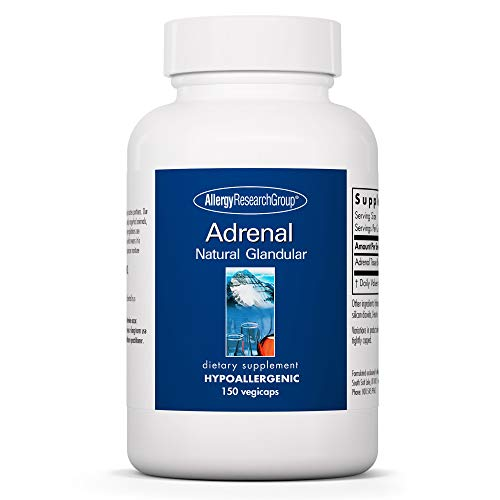Allergy Research Group Adrenal Natural Glandular 100 mg 150 Kapseln von Allergy Research Group
