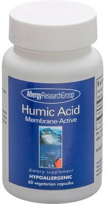 Allergy Research Group Humic Acid Membrane Active - 60 veg. Kapseln von Allergy Research Group