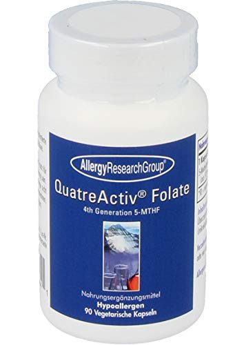 Allergy Research Group QuatreActive Folate 5-MTHF 90 veg. Kapseln von Allergy Research Group