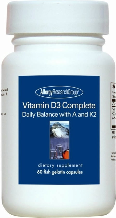 Allergy Research Group Vitamin D3 Complete  - 60 Kapseln von Allergy Research Group