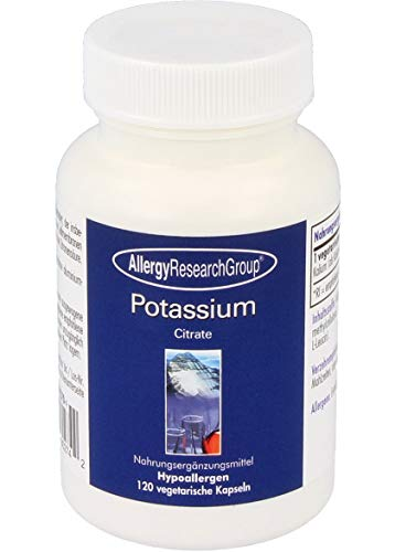 Allergy Research Group Potassium Citrate 99 mg (Kalium) 120 veg. Kapseln von Allergy Research Group