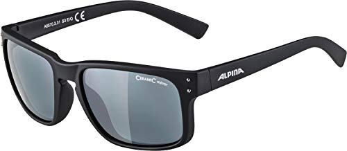 Alpina Sonnenbrille Amition Dyfer Outdoorsport-Brille, Brown Transparent, One Size