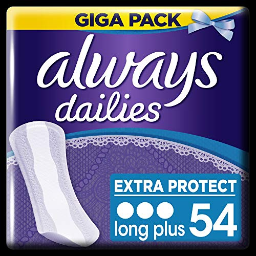 Always Slipeinlagen Extra Protect Long Plus, Giga Pack, 4er Pack (4 x 54 Stück) von Always