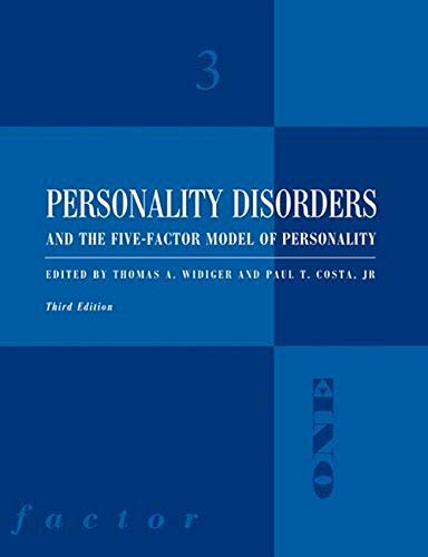 Personality Disorders and the Five-Factor Model of Personal von American Psychological Association