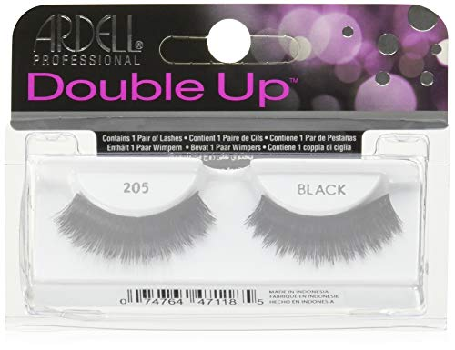 ARDELL - das Original - Double Up Lash 205 black, 1 Paar von Ardell