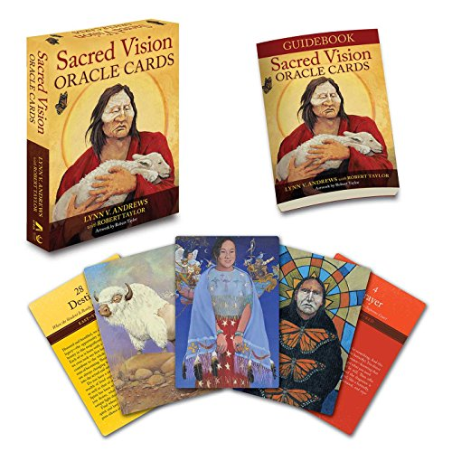 Sacred Vision Oracle Cards von Atria Books/Beyond Words