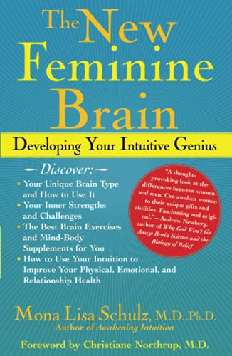 The New Feminine Brain: Developing Your Intuitive Genius von Atria Books