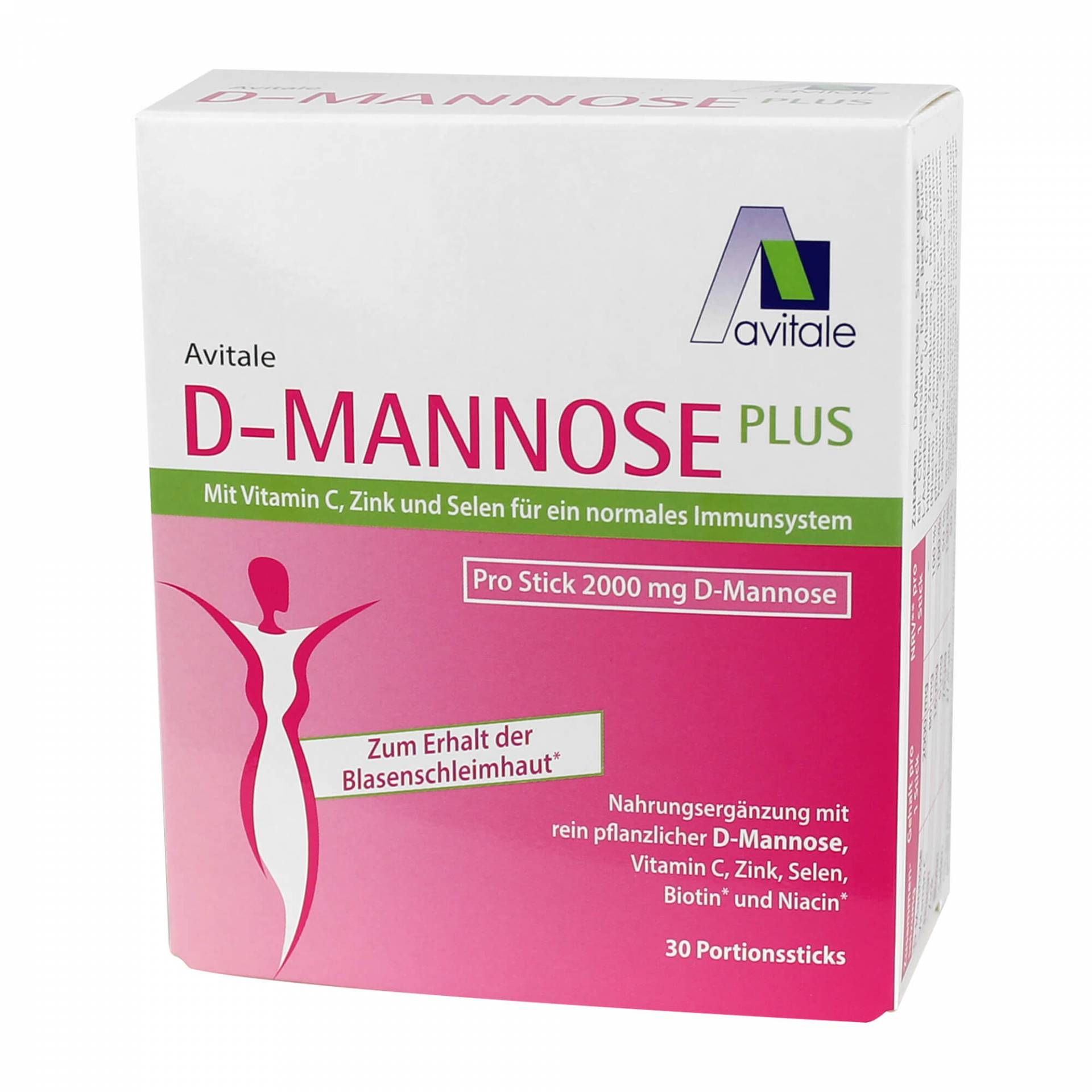 D-MANNOSE Plus 2000 mg Sticks von Avitale GmbH