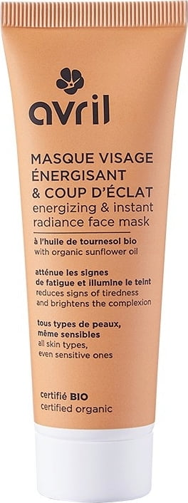 Avril Energizing & Instant Radiance Face Mask - 50 ml von Avril
