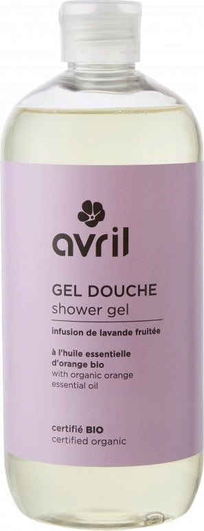 Avril Lavender & Orange Shower Gel - 500 ml von Avril