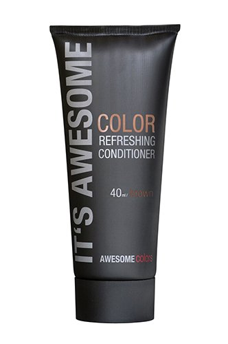 Awesome Colors Color Refreshing Conditioner Brown, 40 ml von Awesome Colors