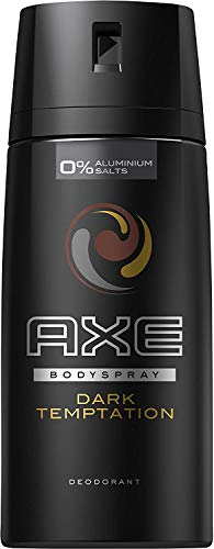 AXE Deospray Dark Temptation ohne Aluminium 150 ml, 3er Pack (3 x 150 ml) von Axe