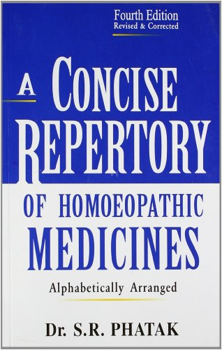 Concise Repertory of Homeopathic Medicines von B Jain Publishers Pvt Ltd