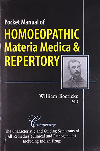 Pocket Manual of Homeopathic Materia Medica & Repertory von B Jain Publishers Pvt Ltd