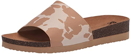 BC Footwear Women's Get Going Slide Sandal, Tan Cow, 8.5 von BC Footwear