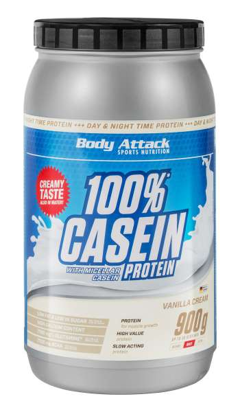 Body Attack Casein Protein, 900g von BODY ATTACK