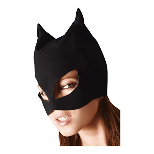 Bad Kitty Exotic Wear Kopfmaske schwarz, 1 Stück von Bad Kitty
