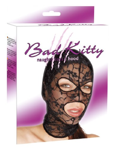 Bad Kitty Exotic Wear Kopfmaske schwarz von Bad Kitty