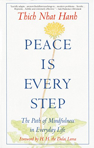 Peace Is Every Step: The Path of Mindfulness in Everyday Life von Bantam