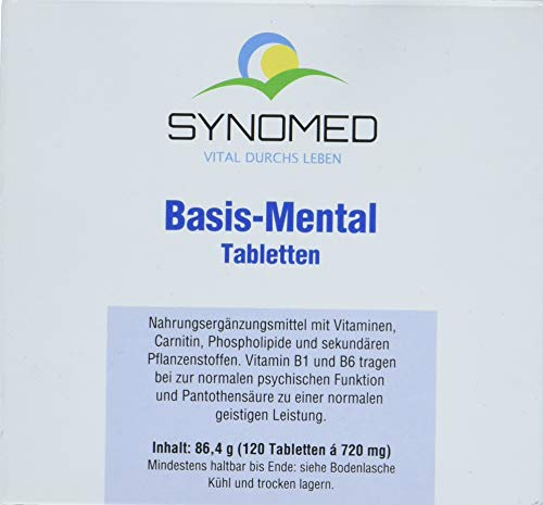 Basis-Mental Tabletten, 120 Tabletten (86.4 g) von SYNOMED